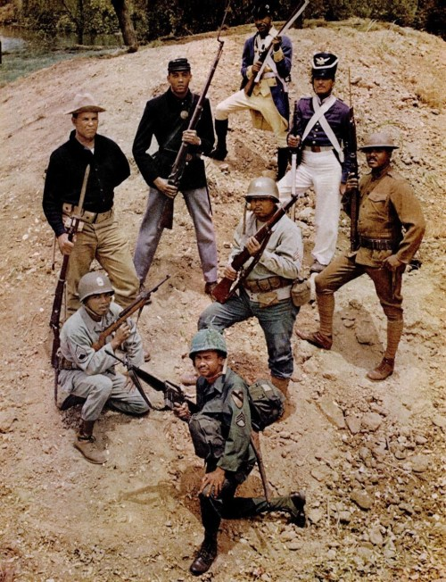 Depicting Service Of Black Soldiers From Revolutionary War To Vietnam In 1968