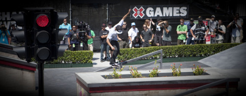 Nyjah Huston continues his 2011 dominance after taking home his first Gold in Skate Street at X Games 17!