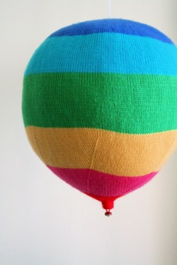 Knit Your Own Hot Air Balloons