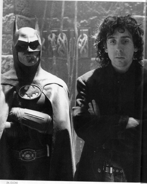 midtowncomics:  Batman & Tim Burton