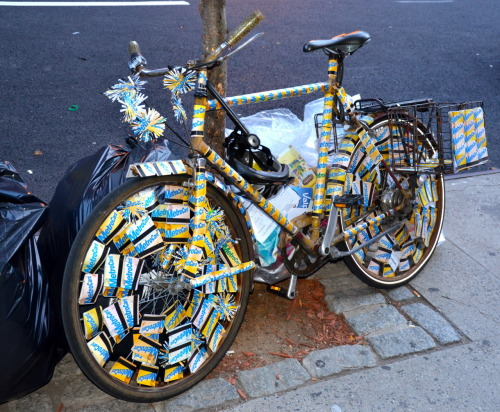 Bike art, NYC.