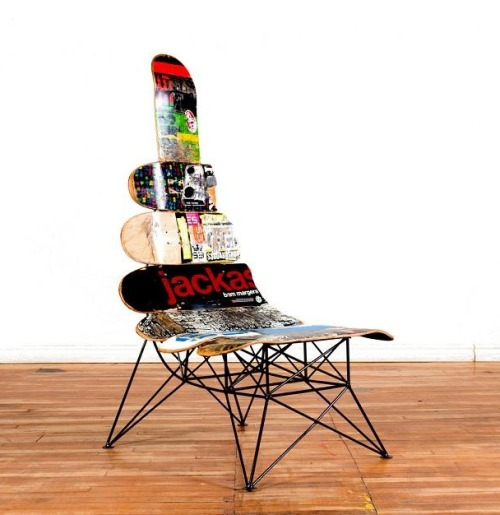 ordovicianfauna:  Janie Belcourt designs and builds High-end urban furniture.
