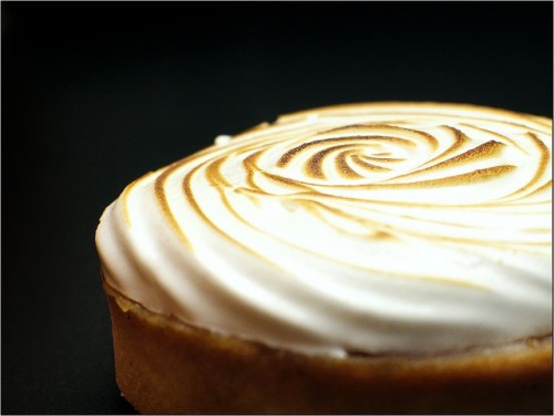 Lemon meringue, by me.