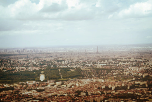 Paris from the air… www.liliseidl.com