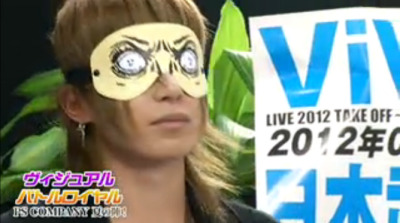 x-sachi:Lmao someone commented that he looked a bit like Gackt. x) ひどいなぁ