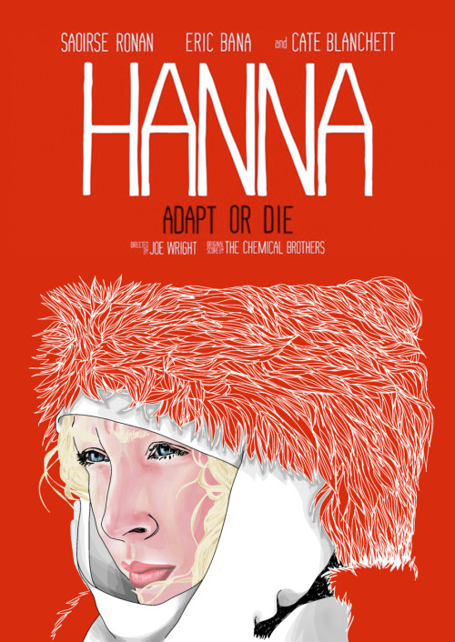 I just got this HANNA film poster done. I am soo happy <3 Hope you guys like it too :)