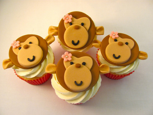Monkey Set by zoeycakes on Flickr.