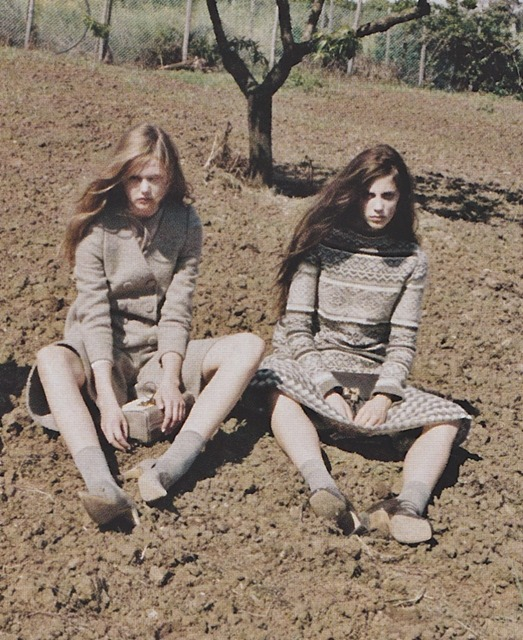 Ann Kenny and Frida Gustavsson for Marc Jacobs F/W 2010 by Juergen Teller