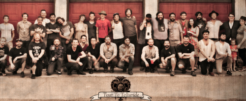 mumfordandsonslive:  Mumford & Sons, Nathanial Rateliff, Matthew & The Atlas, and crew Rachael Wright Photography