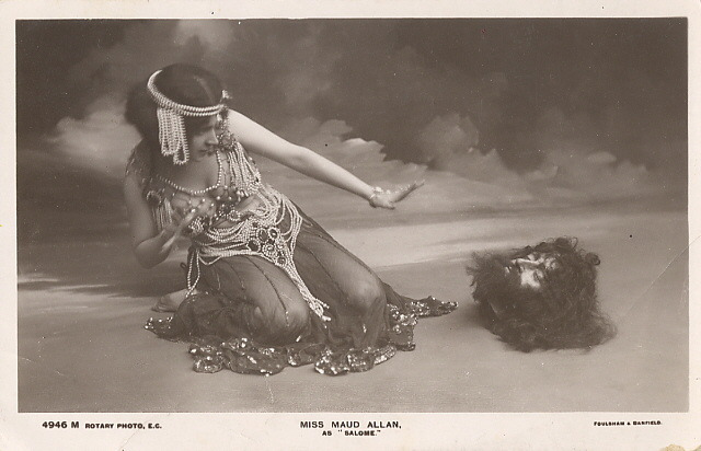 maudelynn:  Maud Allan as Salome c.1900