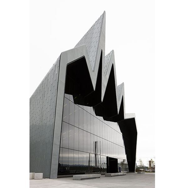Glasgow Riverside Museum  Architect: Zaha Hadid