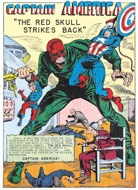 The Golden Age of Captain America, Crime Fighter