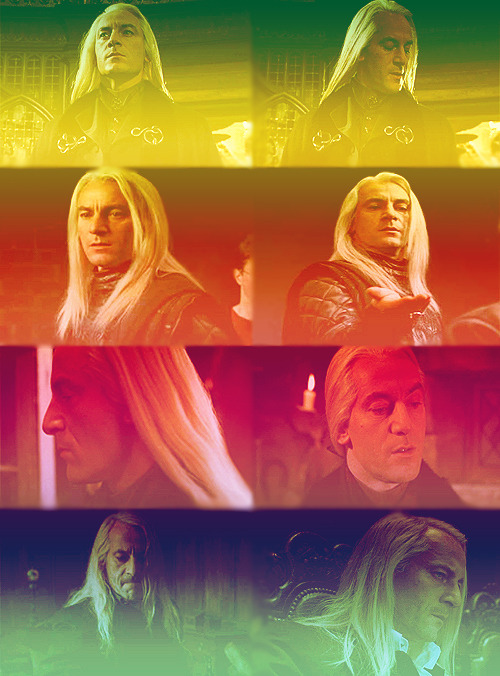 Themed Party | Challenge 22: Hair ↳ Lucious Malfoy of Harry Potter