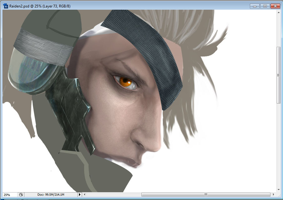 My next work nothing special just a W.I.P of Raiden= = style and technique inspired by adonihs(cause I used his customize brush~kudo to him) Till now, I only realise I was lack of idea to update my blog, every contents are too obvious tht won't needed to explain, anyway~ a picture tell thousand words. I do only post my works at here XD