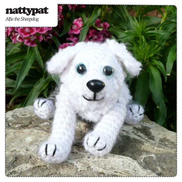 Alfie the Sheepdog Crochet Pattern by nattypatcrochet on Flickr.
