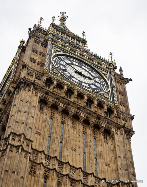 The Clock Tower (Big Ben), London, England (via overment on Etsy)