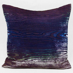 Kevin O'Brien Studio Velvet burn out pillows in the peacock color! Amazing!!
