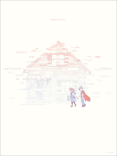 Here's Where I Live…Lived… by Kevin Tong - Inspired by the movie Eternal Sunshine of the Spotless Mind