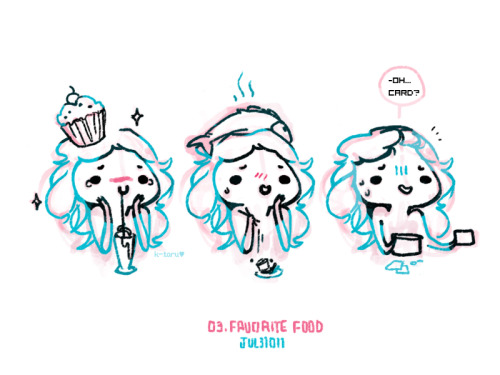 cute muffins ; =;, coffee drinks+whipped cream, sushi places and trying on new restaurants ; w;