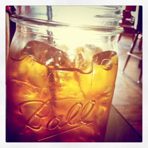 Sweet tea lovin (Taken with instagram)