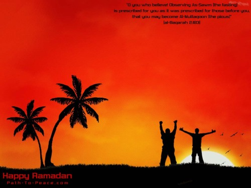 Welcome O Ramadhan,Happy fasting month to all muslims!