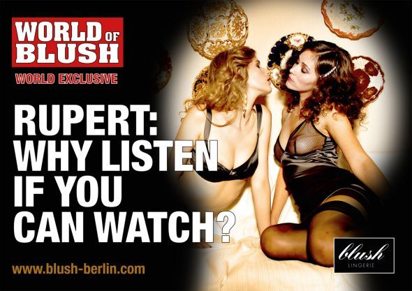 Blush Lingerie, Berlin  Timely phone hacking scandal response…
