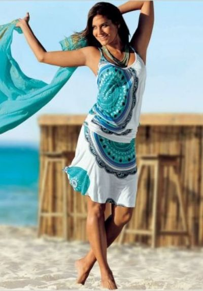 Fun and sassy beach dress.