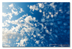 Clouds at f3.2 (Cotton Wool in a Blue Jar) by [ Kane ] on Flickr.