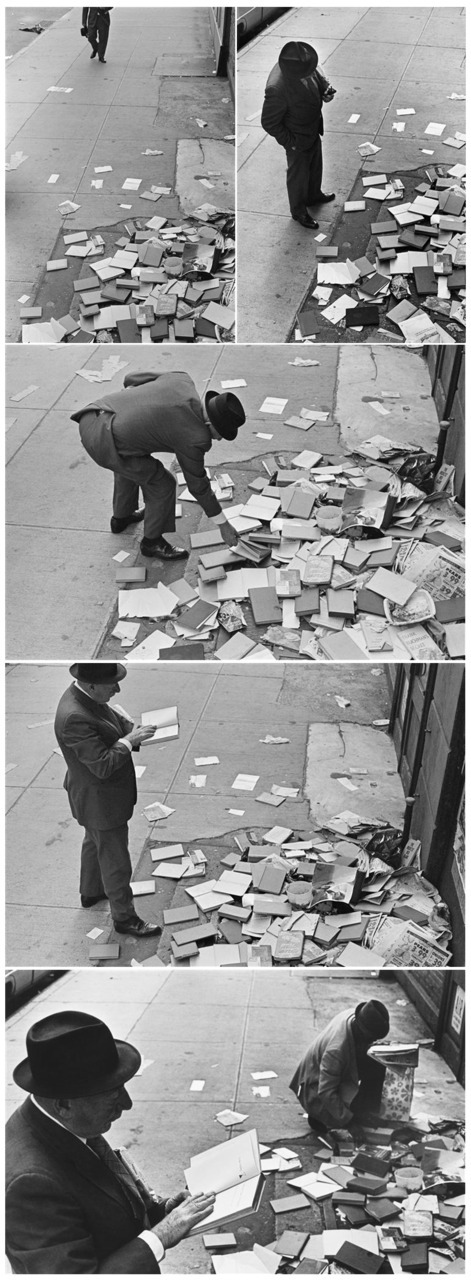 delavegasch:  pleasure on reading, André Kertesz