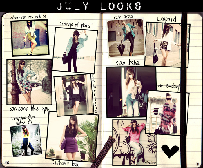"LOOK OF THE DAY ""JULY LOOKS"" This a collection of my July's Outfits"