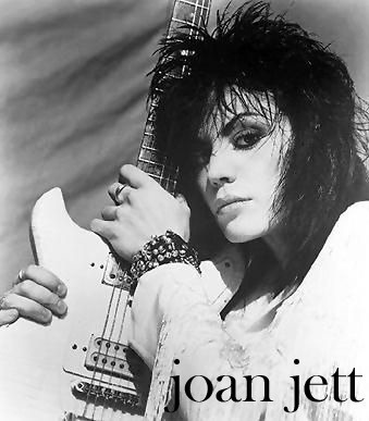 Joan Jett and her amazing hair.