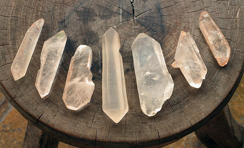danceswithfaeriesunderthemoon:  Clear Quartz is my favourite crystal ever.