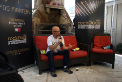 Moby talks with VH1 at the Alternative Style Lab, SXSW 2011
