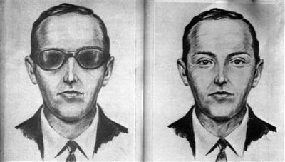 "The FBI says they have a 'credible lead' in infamous D.B. Cooper case AP—The FBI says it has a ""credible"" lead in  the D.B. Cooper case involving the 1971 hijacking of a passenger jet  over Washington state and the suspect's legendary parachute escape.  The  fate and identity of the hijacker dubbed ""D.B. Cooper"" has remained a  mystery in the 40 years since a man jumped from a Northwest Orient  Airlines 727 flight with $200,000 in ransom. read more"