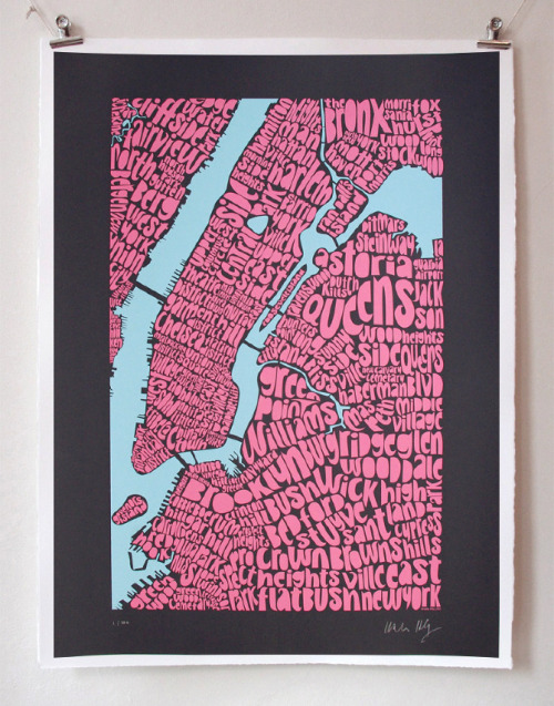 Map of New York - Ursula Hitz