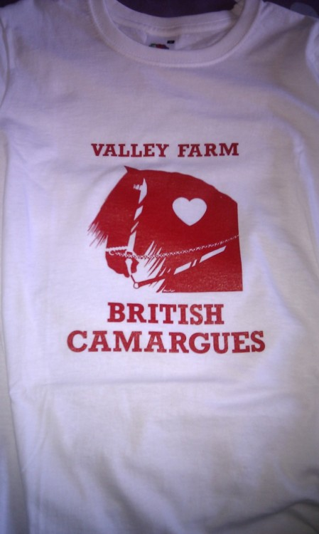 Gonna look stylin' in my Valley Farm shirt.