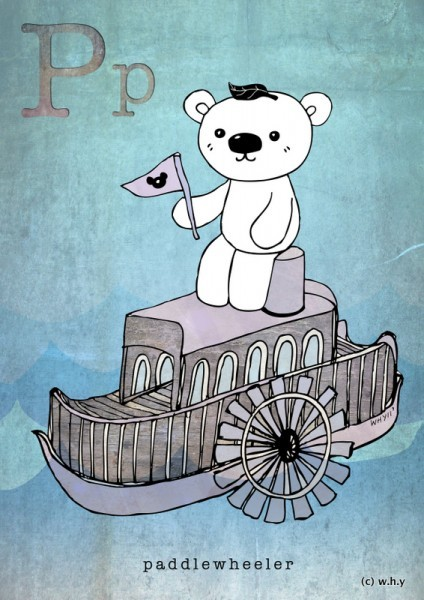 (via ABAD: Day 46 – Paddlewheeler Bear)