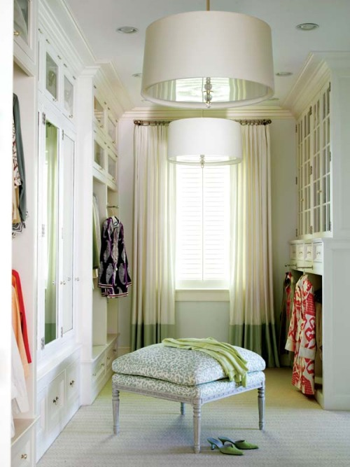 crushculdesac:  New England Home Mag via Made in Heaven  I want this closet!