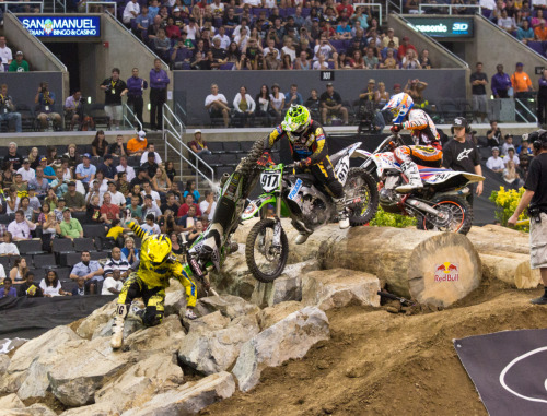 Carnage in Enduro X. What a way to close out X Games 17! Credit: Paul Martinez Media Images Network.