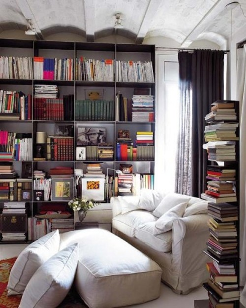 livinginspired:  How to Choose Inspiring Lighting for your Reading Nook