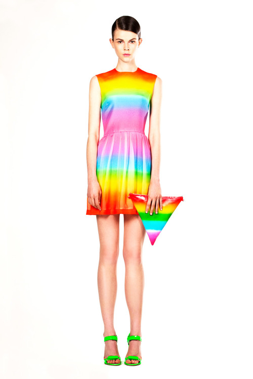 pieratt:  Review - Christopher Kane Resort 2012 - Christopher Kane - Colle