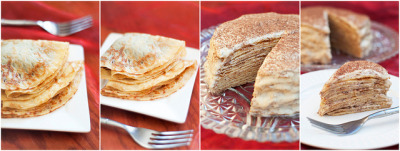 Tiramisu Crepe Cake Recipe (via theconsultingbitch)