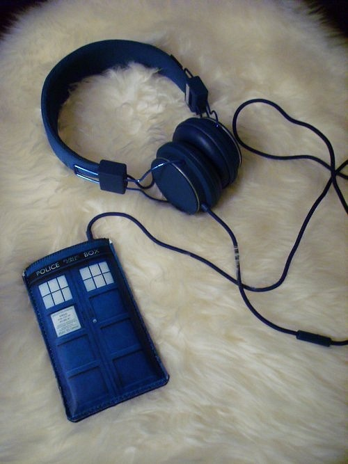 doctorwho:  TARDIS case.