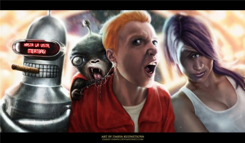 deviantart:  Futurama by ~Darey-Dawn