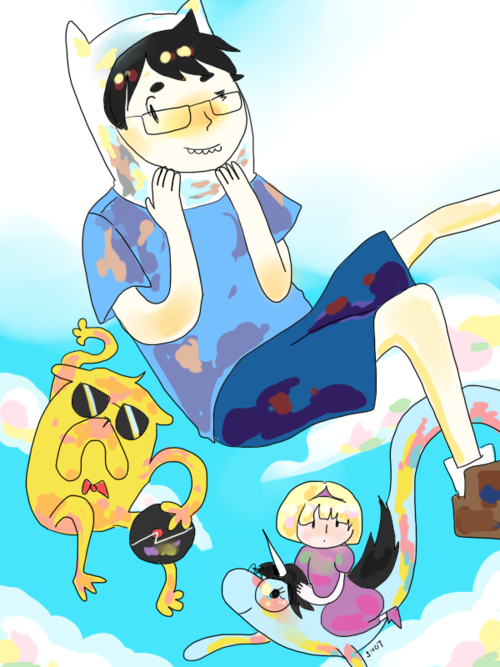 Adventure Time + Homestuck