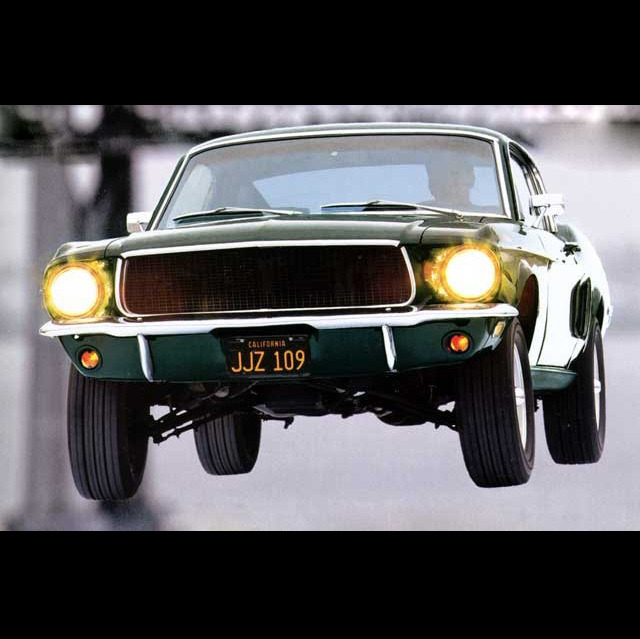 youdidwhatnow:  The Ford Mustang from Bullitt. Great scene. Great car. Steve McQueen.