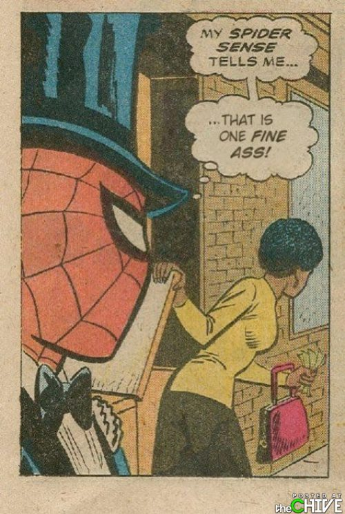 Spidey, whoa. (via afrosaxon and @jillthompson)
