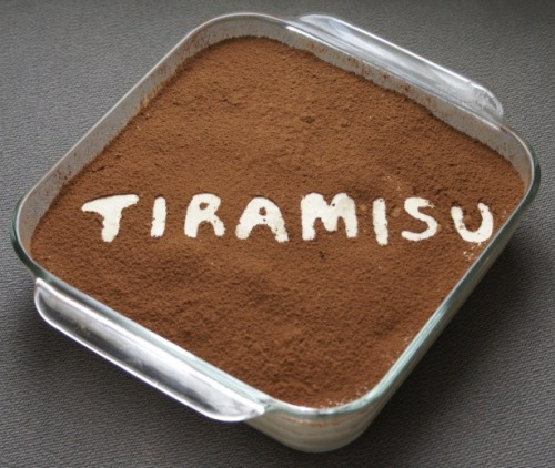 foodfuckery:  Daring Bakers Tiramisu Recipe