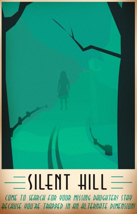 5 Tourism Posters For Videogame Getaways