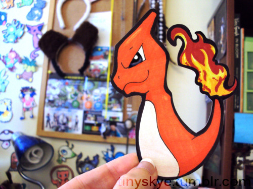 Charmeleon, the Flame Pokémon. It has razor sharp claws and its tail is exceptionally strong. Buy me Here